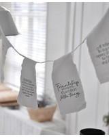 Afrodutch Paperstone Guirlande en coton avec ciation 4m - Amitiés - Afrodutch Paperstone