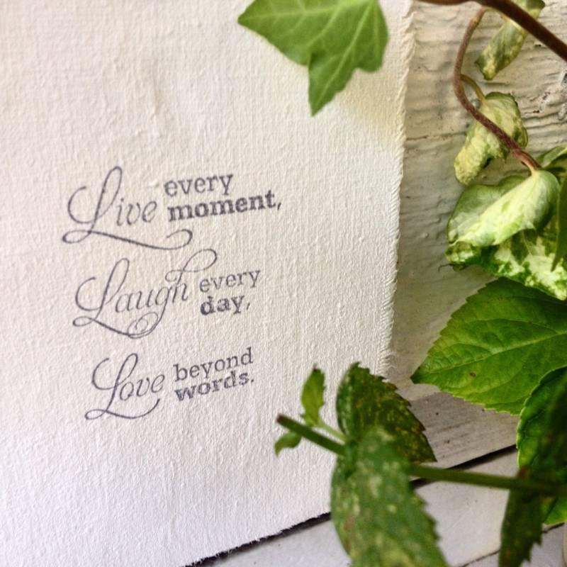 Afrodutch Paperstone Guirlande en coton avec citation - sagesse - 4m - Afrodutch PaperStone