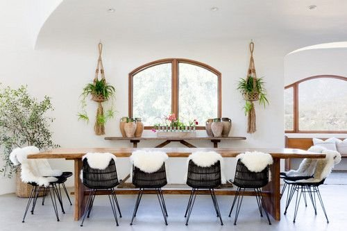 A bohemian, Scandinavian Ethnic decor means so much more than just a beautiful interior - seen at ilariafatone.com