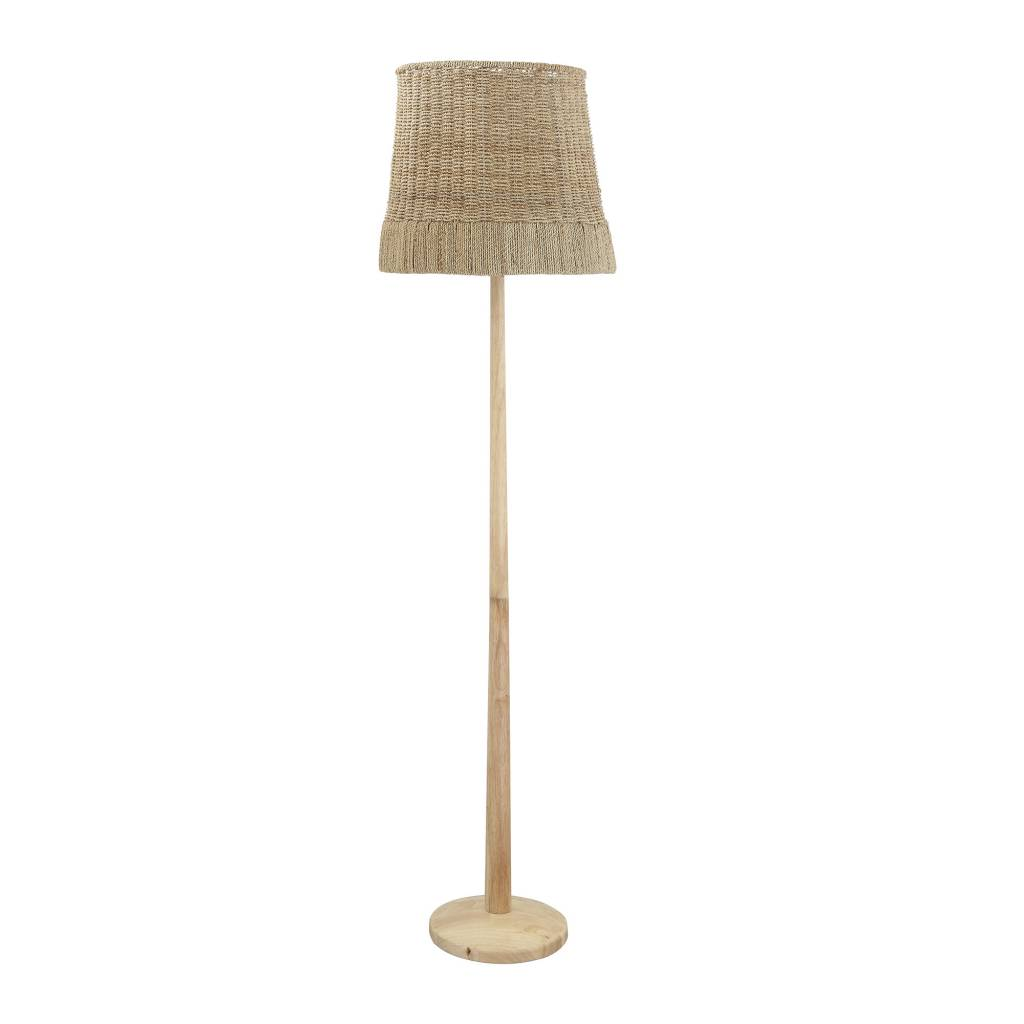 Bloomingville Rattan floor lamp - natural - Ø40xh160cm - Bloomingville