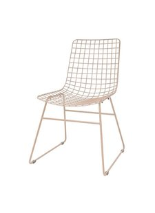 HK Living Chaise Wire - métal nude/skin - HK Living