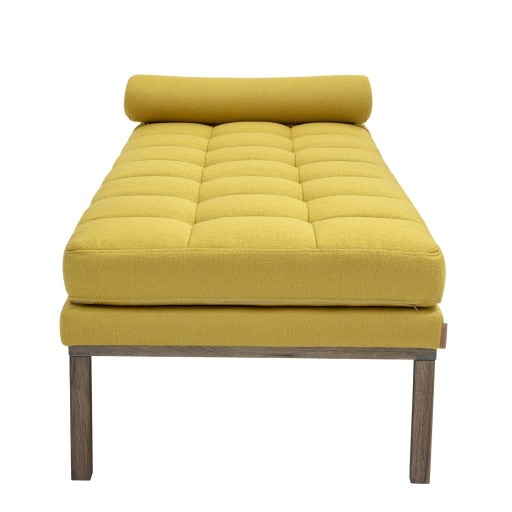 Bloomingville Cama de dia - amarilla -  200x42x86cm - Bloomingville