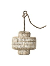 Bloomingville Rattan pendant lamp - natural - Ø53xH53cm - Bloomingville