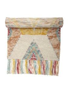 Bloomingville Rug wool - multicolore - 150x90cm - Bloomingville