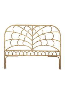 Bloomingville Bohemian Headboard rattan - Natural - L181xH142 - Bloomingville