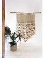 the dharma door  Jumbo Wall Hanging Jumbo - Jute Tassels - 100xh145cm - The dharma door