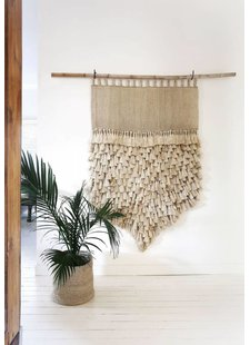 the dharma door  Pendentif en tissage de jute Jumbo - Naturel  - 100xh145cm - The dharma door