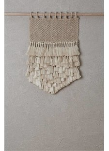 the dharma door  Wall Hanging Jumbo - Jute Tassels - Natural - 45xh65cm - The Dharma Door
