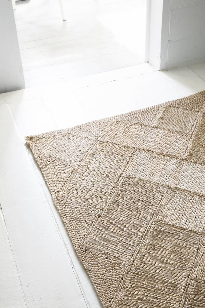the dharma door  Bhola Jute Runner - 300x80cm - The Dharma Door