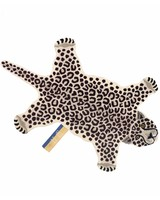 Doing Goods Tapis léopard 'neige' - 150x91xh2cm  - Doing Goods