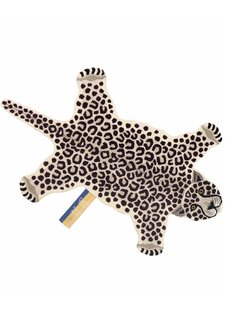 Doing Goods Snowy Leopard rug - 150x91xh2cm  - Doing Goods
