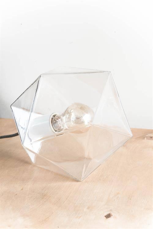 HK Living Lámpara de Suspensión Diamante Geométrico en vidrio - 24 cm - Living HK