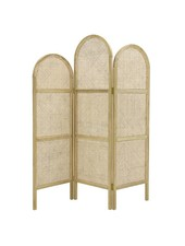 HK Living Room divider, wood/cane, natural colour - 150x2,5xh180cm - HK Living