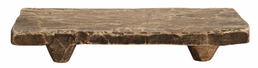 Nordal Planche à découper en bois brut recyclé - natural - 45x21x6cm - Nordal