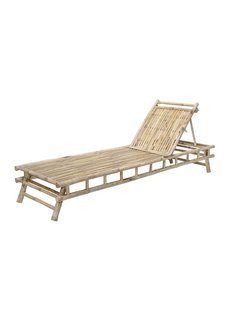 Bloomingville Bamboo sunbed - L220xH33xW74 - Bloomingville