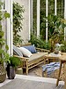 Bloomingville Outdoor coffee table bamboo - L90xH50xW60cm - Bloomingville