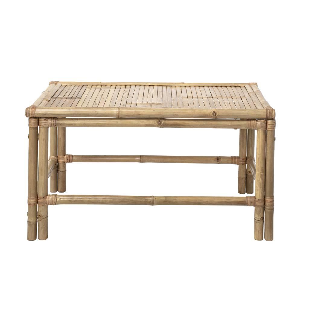 Table basse de jardin en bambou - L90xH50x60cm - Bloomingville