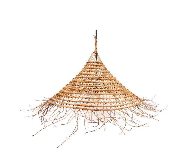 Rock the Kasbah Lampe Suspension palmier dattier - Ø65-80xH50cm - Rock the Kasbah