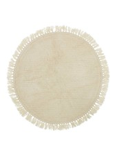 Bloomingville Rug wool - nature - Ø90cm - Bloomingville