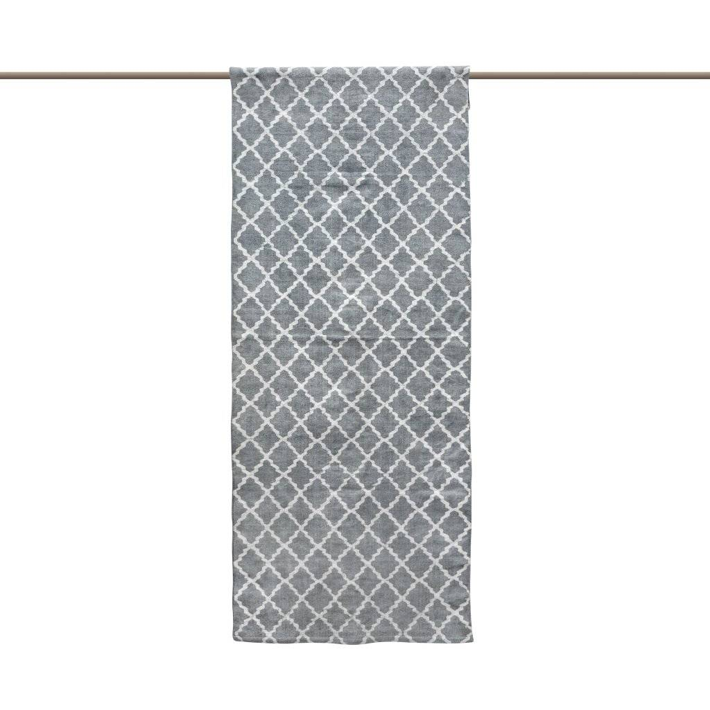 Tell me more Scandinavian rug in Stonewashed Cotton - Light Grey - 80x150cm - Tell me more