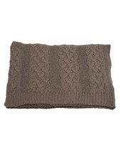 Evenaar knitted plaid - brown - 130x170cm - Evenaar