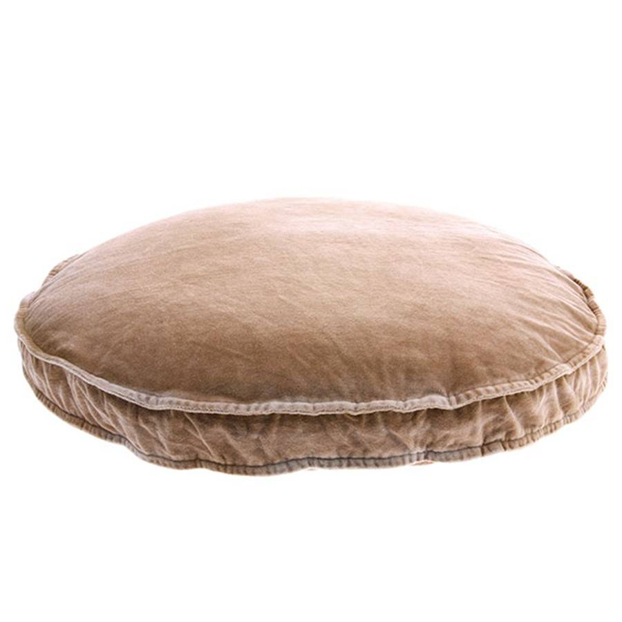 HK Living round velvet seat cushion skin - Ø60 - HK Living