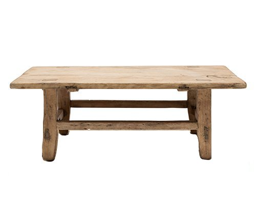 Snowdrops Copenhagen Coffee table KANG - Elm wood - 79x44xh25cm - Unique piece
