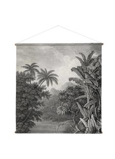 HK Living Cartel Impreso XXL jungle - 154x2cm - HK Living
