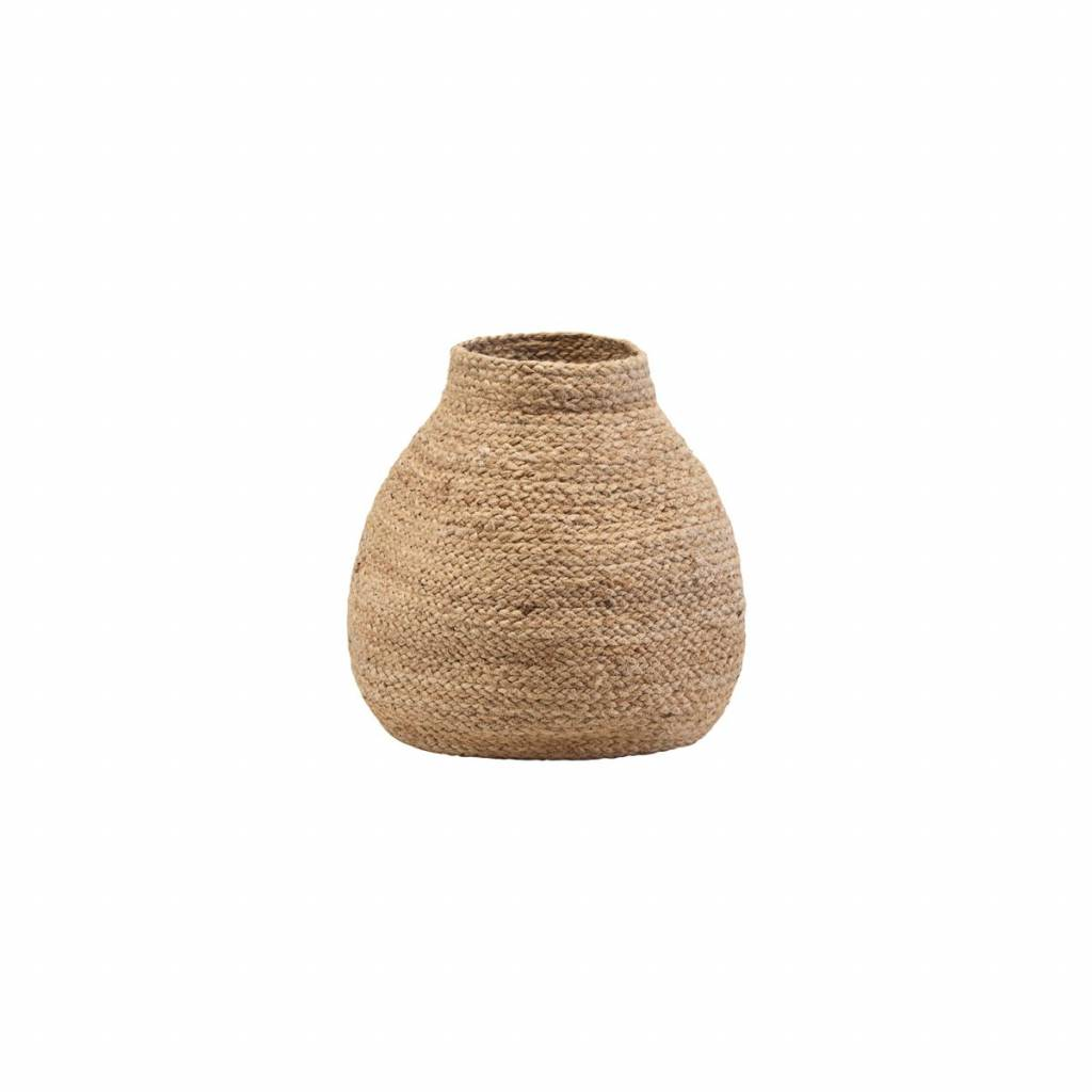 House Doctor Basket Zimba Yute - natural - Ø35xH40 - House Doctor