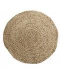 TineKHome Round rug jute hemp - natural - Ø120cm - Tine k Home