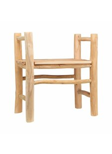 House Doctor Outdoor dinning chair in teak - Natural  - House Doctor