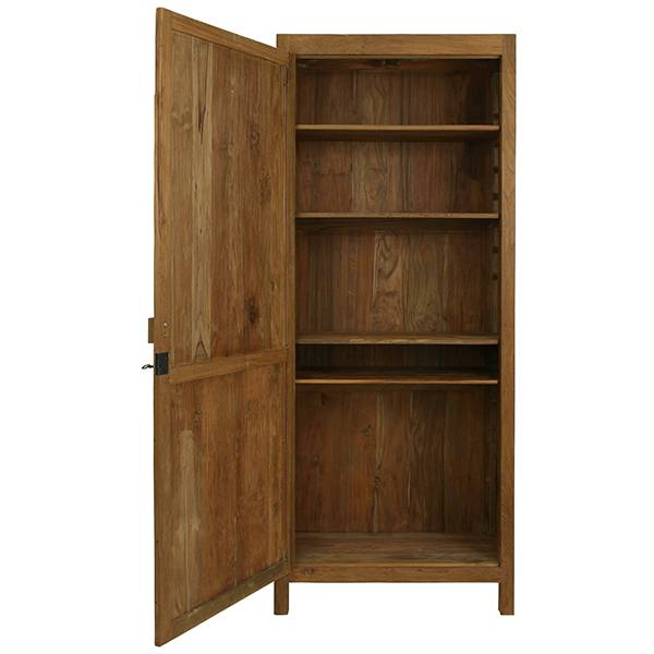 HK Living White cabinet - mango wood - h200x82cm - HK Living