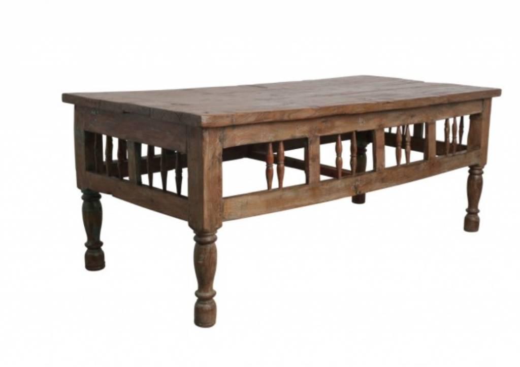 Pièce En Table Teck Basse 65x80xh66cm Unique ybfgYv76Im