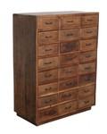 Petite Lily Interiors Factory cabinet 24-drawer - 80x40xH106 - Unique Piece