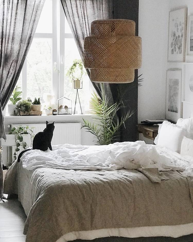 Home Decor with fabulous vintage furniture pieces! spotted at My Scandinavian Home