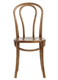 Nordal 2 chaises bistro en bois - Ø40xh90cm - Nordal