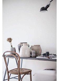 Nordal Conjunto 2 sillas de bistro de madera -  Ø40xh90cm - Nordal