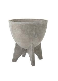 Bloomingville Flowerpot concrete - Ø43xH45cm - Bloomingville