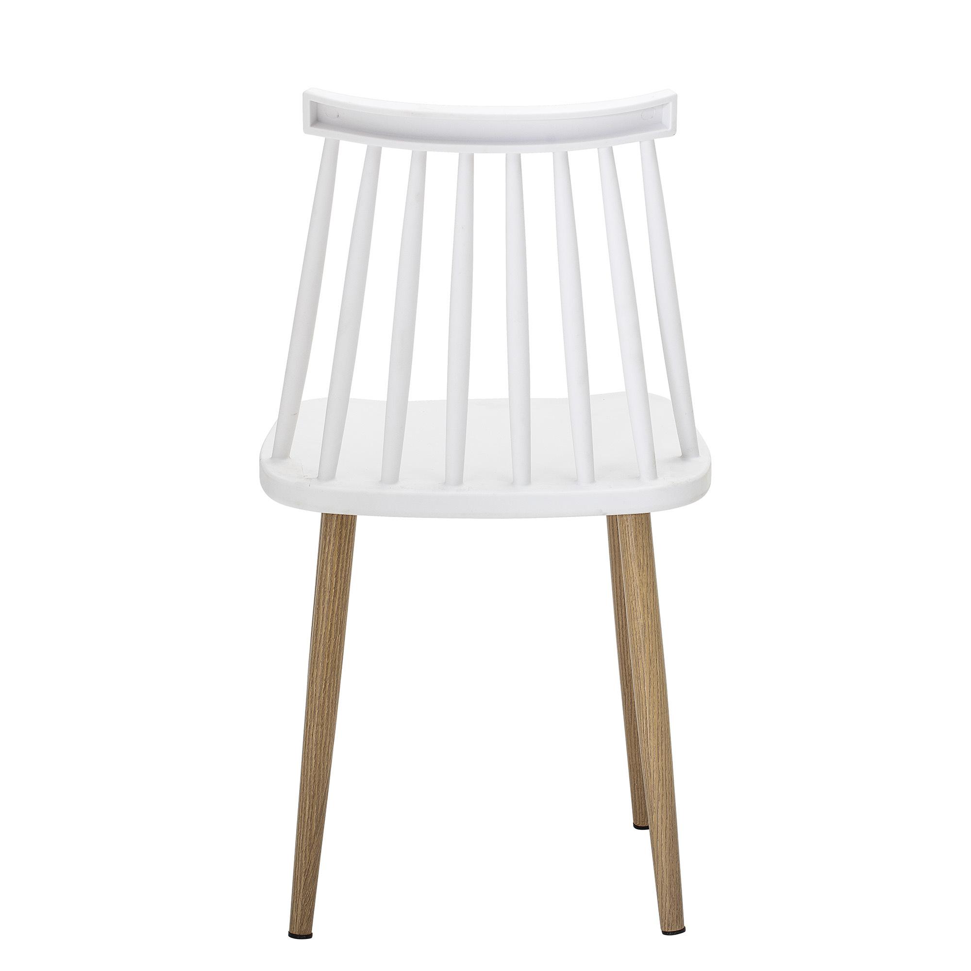 Bloomingville Chaise de jardin Plastique - blanc - L42xH80xW42cm - Bloomingville