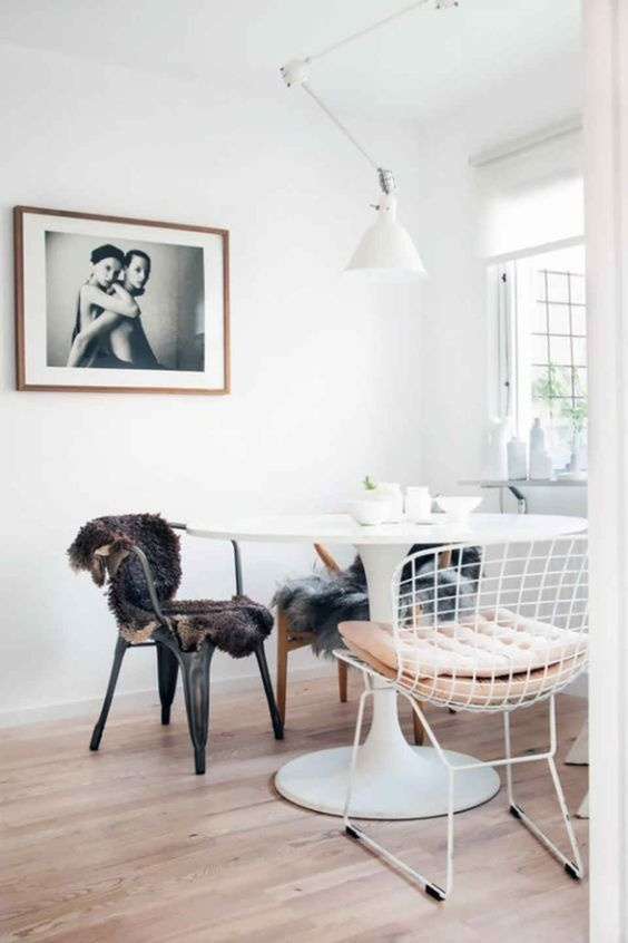 HK Living Chaise Wire - métal blanc - HK Living