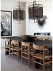 Ay Illuminate Z1 Bamboo pendant lamp with Silk and Cashmere cover - Ø67xh100 CM - black - Ay illuminate