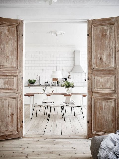 Bloomingville Dining room table - Oak - 200xW95xH75cm - Bloomingville