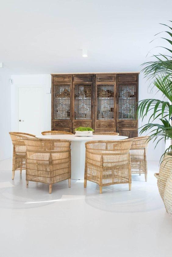 Vibrations Boho dans cette maison d'un designer Espagnol, vu sur Planet Deco