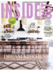 A stylish mix of natural and black rattan HK Living barstools - spotted at Insideout Mag