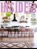 Un mélange élégant de tabourets de bar HK Living en rotin naturel et noir - Vu sur Insideout Mag