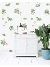 Wall Paper Flamingo & Tiger - 203x303cm - Prize per m2: 27,00 €