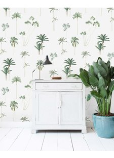Wall Paper Palms - 203x303cm - Prize per m2: € 27,00