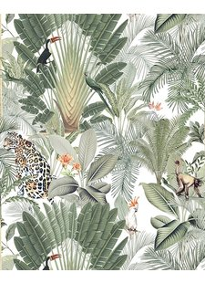 Creative Lab Amsterdam  Wall Paper Into the Wild - 203x303cm - Prize per m2: € 27,00