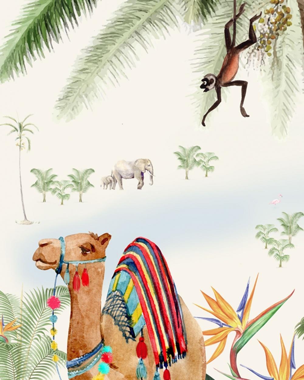 Wall Paper Binti Baby - 203x303cm - Prize per m2: € 27,00