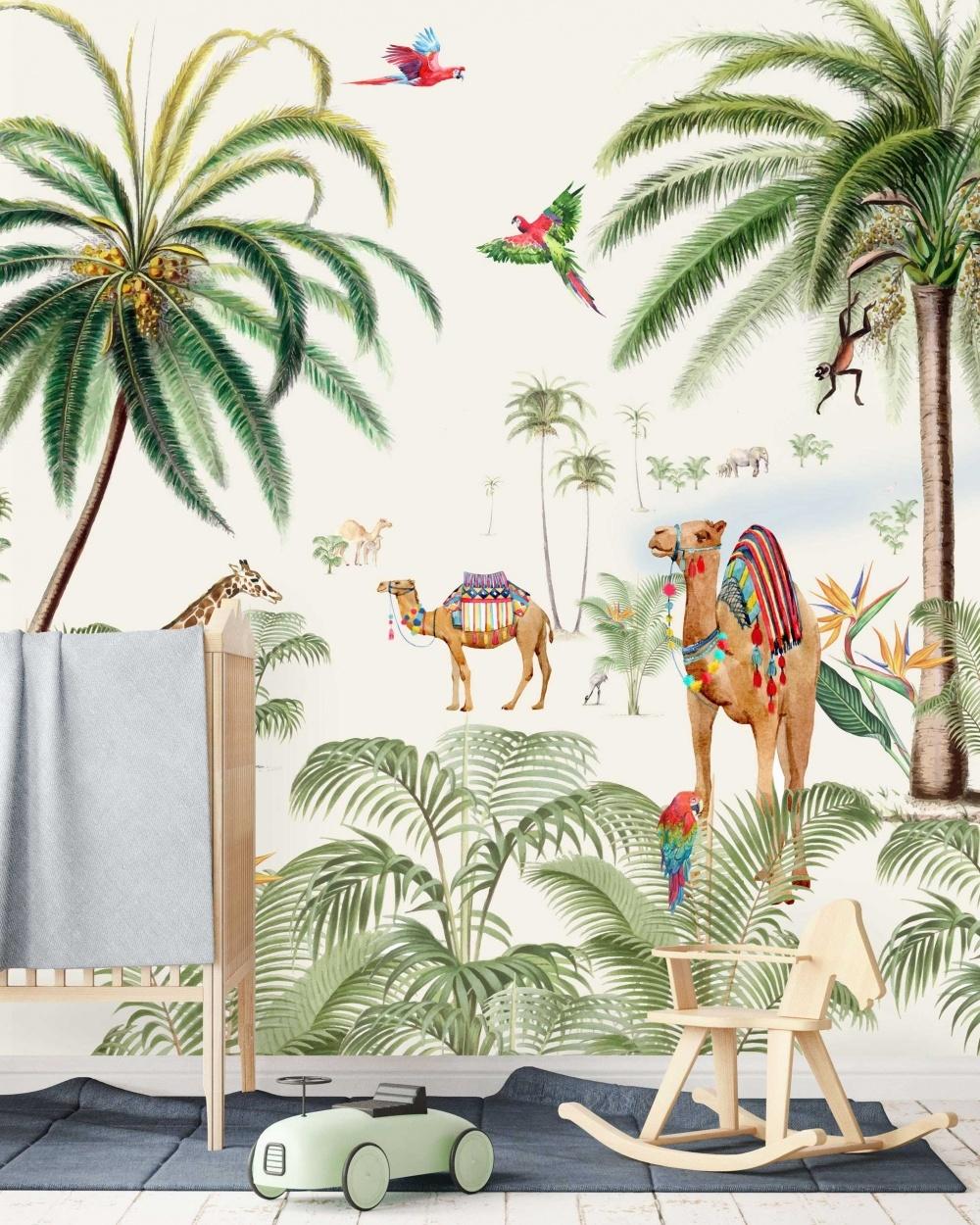 Creative Lab Amsterdam  Wall Paper Binti Baby - 203x303cm - Prize per m2: € 27,00